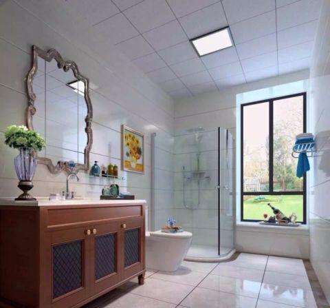 卫生间现代欧式风格装饰效果图