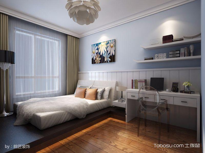 儿童房榻榻米新中式风格装饰设计图片