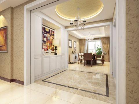 160平现代中式风格四居室装修效果图