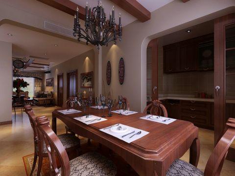 餐厅美式风格装修效果图