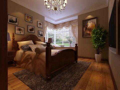 卧室照片墙美式风格装饰效果图