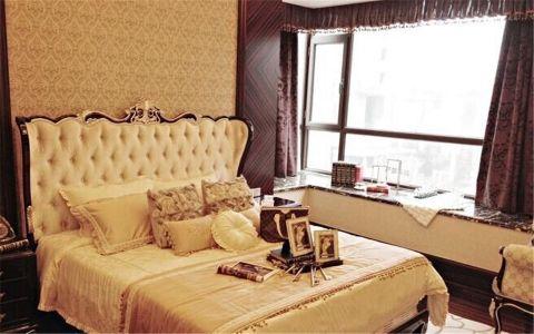 简欧风格三室两厅家居装修图片