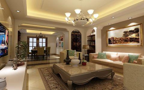兰桂公寓现代美式风两居室装修图
