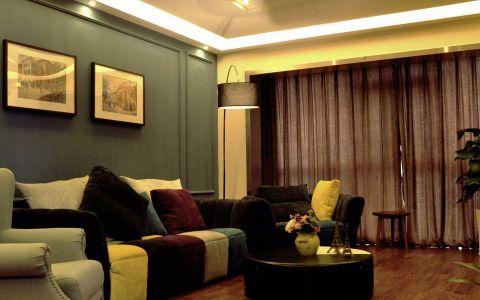 混搭风格套房家居装修效果图欣赏
