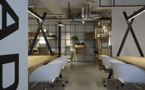 河东区办公室装修效果图