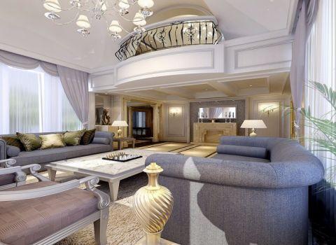 金地格林世界简欧古典别墅风格设计图