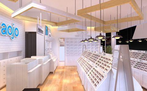 120平米眼镜店装修效果图
