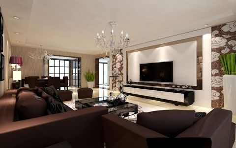 未来家园130平现代简约设计图片