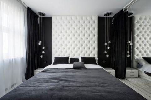 30平米简约白色公寓设计装修图