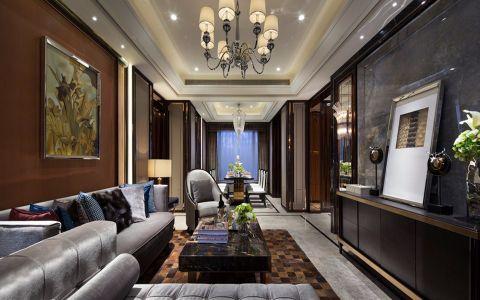 古典风混搭四居室装修效果图