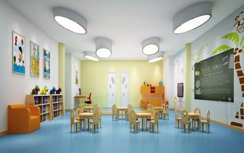 童趣创意幼儿园装修效果图