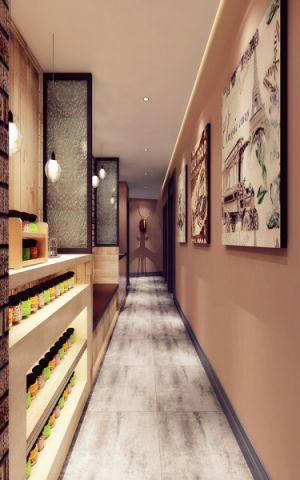 上海海鲜蒸汽火锅餐厅装修效果图
