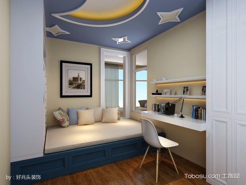 儿童房榻榻米美式风格装饰设计图片