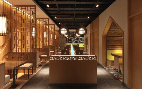 韩式料理餐厅装修效果图