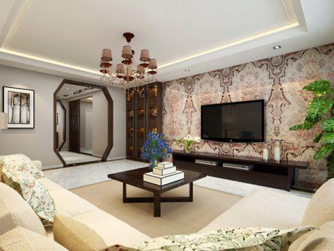 新中式大户型家居装修图