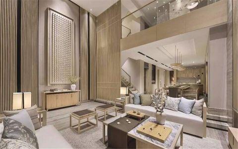 新中式别墅板房装修设计图