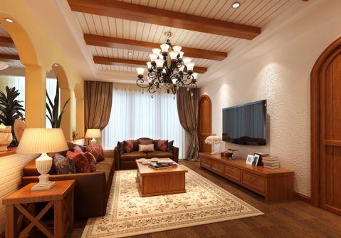 美式风格经典别墅装修案例图