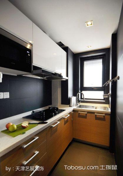 厨房白色吊顶简约风格装饰效果图