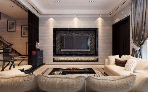 2020现代中式150平米效果图 2020现代中式别墅装饰设计