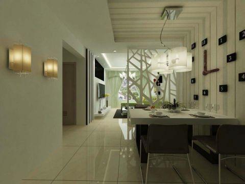 现代简约风格公寓装修设计图