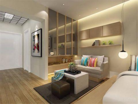 现代简约一居室公寓设计