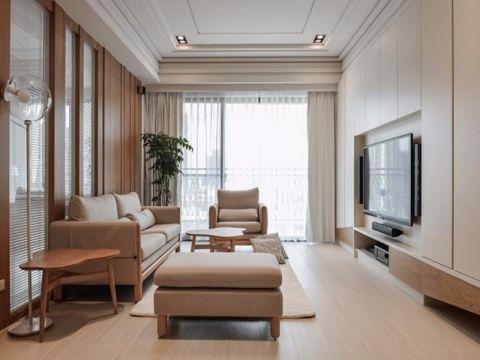 2021简约120平米装修效果图片 2021简约三居室装修设计图片