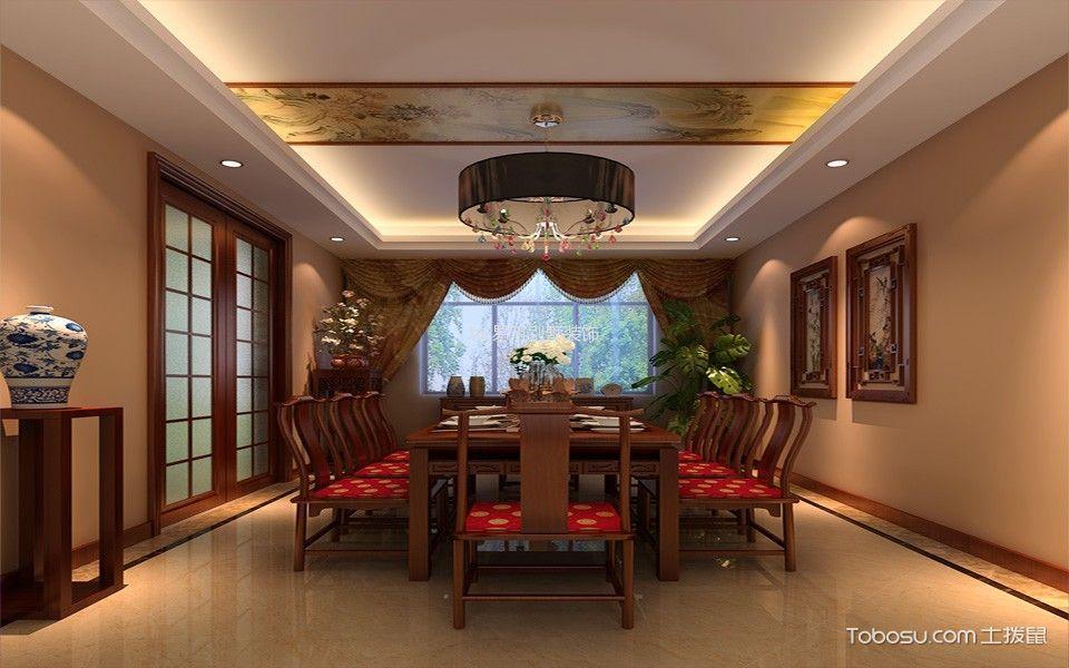 三居室中式风格设计效果图展示