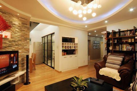 现代简单家装实景案例图