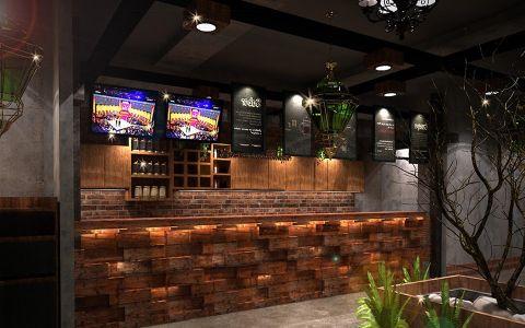 和平区咖啡厅装修效果图