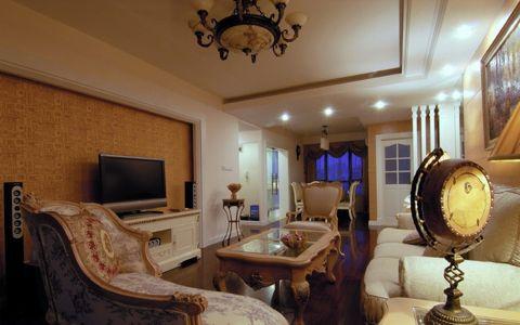 2021美式80平米设计图片 2021美式三居室装修设计图片