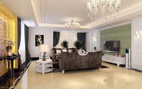 116平简欧风格三居室设计图