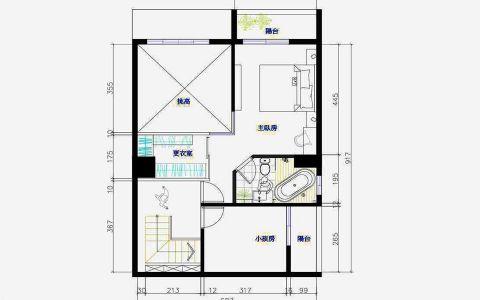 现代简单别墅装修案例图