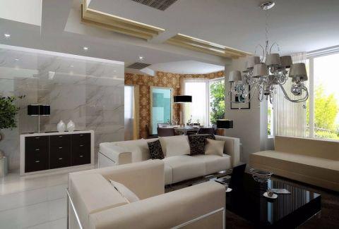 2020现代简约客厅装修设计 2020现代简约设计图片