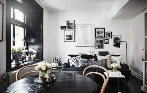 中电颐和家园混搭风格公寓设计