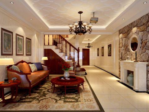 别墅休闲美式风格装修案例图