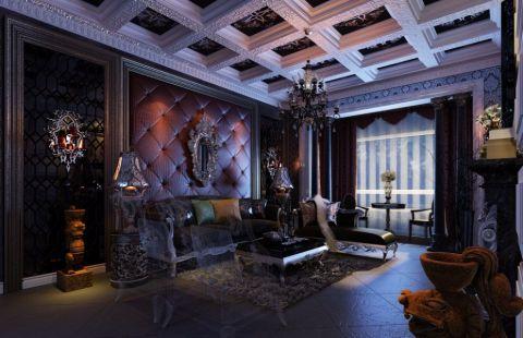米兰公寓新古典风格混搭设计图