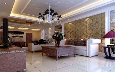 现代简约混合二居室装修图