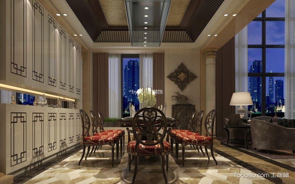 凤凰城400方复式简欧风装修效果图