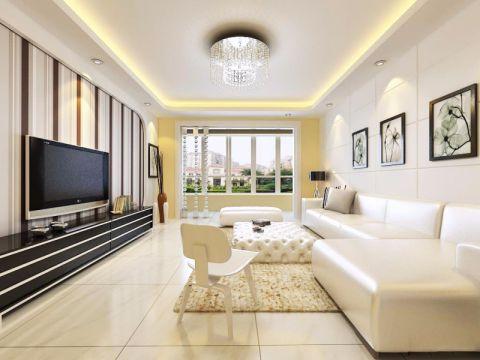 现代简约式时尚家居装修案例图