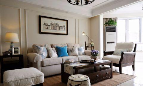 美式简约风格三居室设计装修