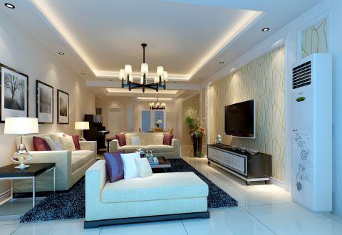 2019現代簡約150平米效果圖 2019現代簡約套房設計圖片