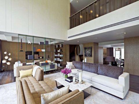 奥斯博恩别墅现代风格装修三居室