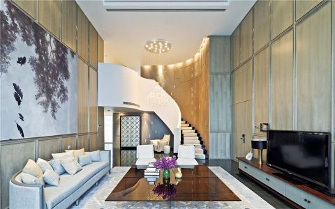 奥斯博恩别墅现代风格装修效果图