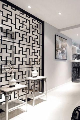 走廊新中式风格装潢设计图片
