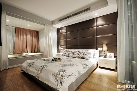 卧室飘窗新中式风格装饰效果图