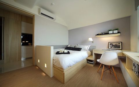 卧室榻榻米日式风格装饰设计图片
