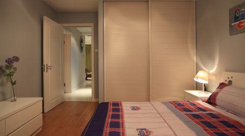 儿童房简约风格装潢效果图