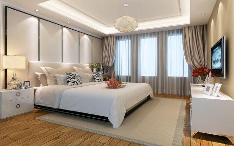 卧室窗帘现代简约风格装修图片