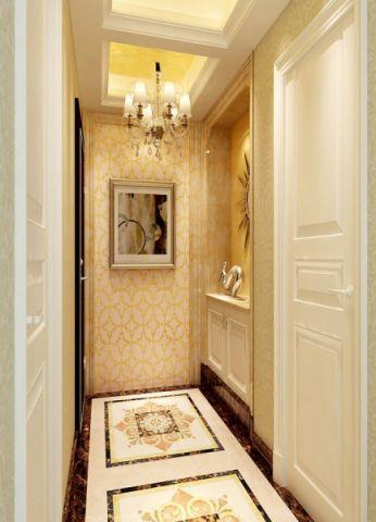 玄关背景墙欧式风格装修效果图