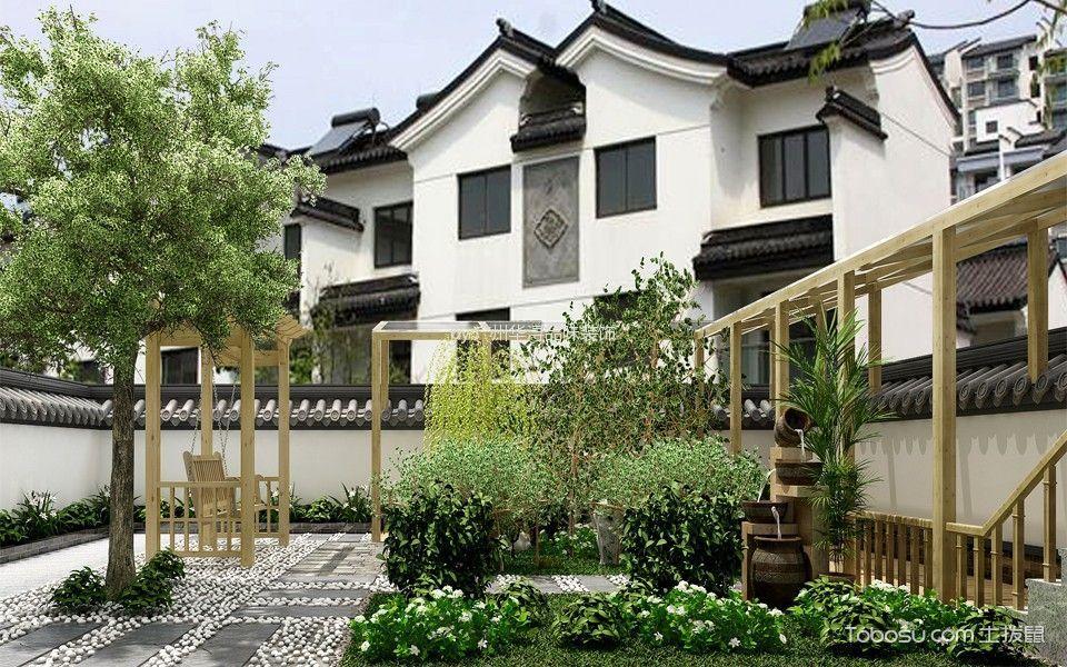 花园_中堂别墅欧式风装修案例图